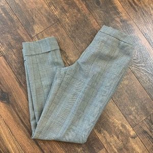 Dana Buchman Subtle Plaid Trousers 2 Dress Pants